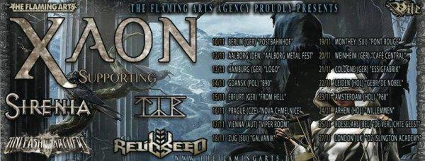 XAON:Face Of Balaam -nouvel EP (16/10/16) VII XVI