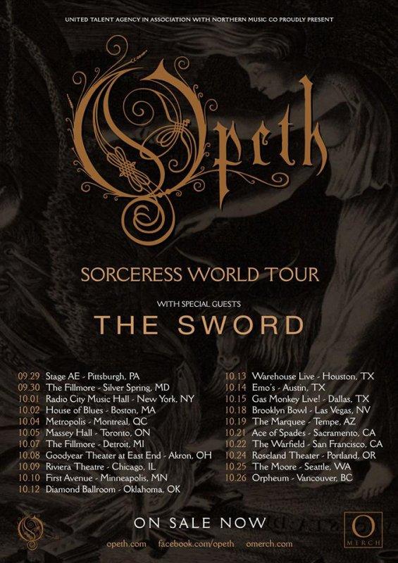 OPETH :Sorceress-nouvel album (30/9/16) VII/XVI