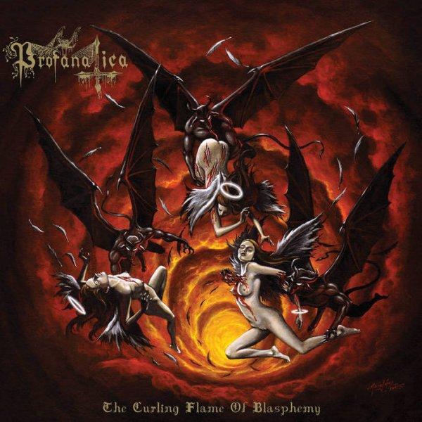 PROFANATICA :The Curling Flame of Blasphemy-nouvel album (22/7/16)en écoute intégrale   VII/XVI