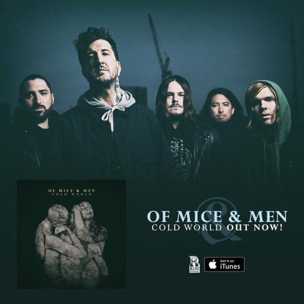 OF MICE AND MEN :ColWorld-nouvel album  en écoute i ntégrale (9/9/16) IXVI