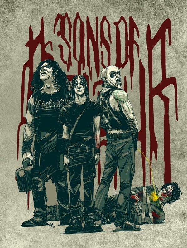 SONS OF BALAUR:Tenebris Deos-nouvel album (14/10/16)  en écoute intégrale  X/XVI