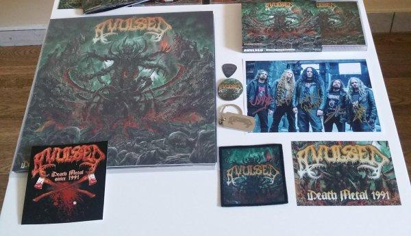 """AVULSED : double-compilation 25ème anniversaire """"Deathgeneration"""" (1/11/16)    X/XVI"""