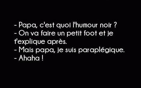 Humour (noir) du WE