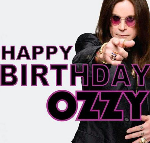 Bon anniversaire Ozzy !