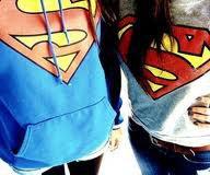 """Si seulement j'serais Superman, j'pourrais voler jusqu'à toi pour te dire juste """"J'taime♥♥"""""""