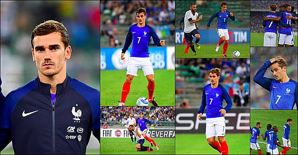 1er septembre 2016: ▬La France se déplaçait en Italie pour disputer un match amical. (1-3) Les Bleus n'ont pas totalement brillé dans ce match de reprise mais ils ont su se montrer assez solides et consistants.