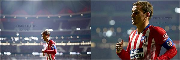 11 Août2018: ▬La dernière rencontre de l'ICCup a vu l'Atletico Madrid affronter l'Inter Milan. (0-1) Antoine entre en jeu à la 61'. Il récupère le brassard de capitaine. Sauf changement, il devrait donc devenir le vice capitaine de l'équipe.