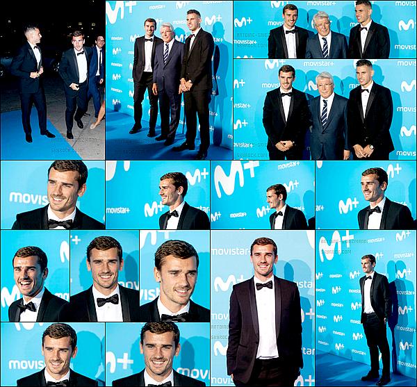 11 septembre 2018: ▬Antoine et Lucas étaient présent au gala de présentation de Movistar+ à Madrid. Pour les personnes qui ne connaissent pas, Movistar est une marque de l'opérateur mobile Telefónica Móviles, plus souvent connu en Espagne.