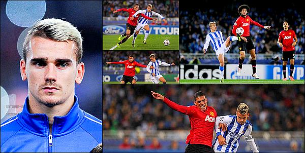 5 Novembre 2013: ▬La Real Sociedad affrontaitManchester United en Ligue des Champions. (0-0) C'est donc un match nul, La Real Sociedad s'est bien battue mais compromet un peu plus ses chances de qualification.