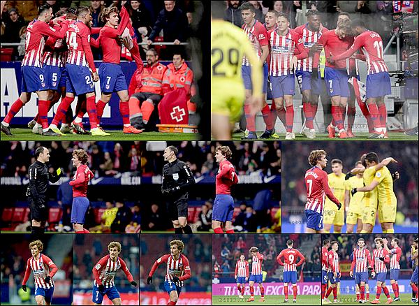 16 Janvier 2019: ▬L'Atletico Madrid affrontait Girona en match retour de 8ès de la coupe du Roi. (3-3) Antoine débute le match sur le banc. Il entre à la 61' et délivre une passe déc à Correa. Il marque à la 85'. Malgré le nul l'ATM est éliminé.