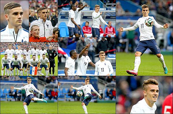 27 Mai 2014: ▬La France affrontait la Norvège en match amical de préparation à la Coupe du Monde. (4-0) Avec cette victoire, les Bleus débutent au mieux leur préparation à la Coupe du monde. Buts:P. Pogba (15') O. Giroud (51', 69') L. Rémy (67').
