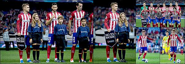 21 Octobre 2015: ▬L'Atletico Madrid affrontait Astana en phase de groupe de Ligue des Champions. (4-0) L'Atletico Madrid gagne facilement ce match avec 4 buts. Buteurs : Saúl ( 23' ), J.Martínez ( 29' ), O.Torres ( 63' ) et un csc de Dedechko. ( 89' )