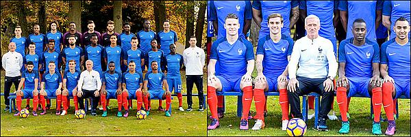 8 Novembre 2016: ▬Les Bleus posent à Clairefontaine pour la nouvelle photo officielle.