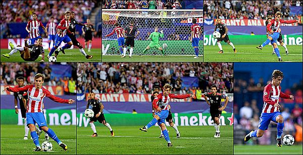 28 Septembre 2016: ▬L'Atletico Madrid recevait le Bayern Munich en poules de la ligue des Champions. (1-0) Dans cette deuxième journée de Ligue des Champions, l'Atletico s'impose face au Bayern Munich grâce à un joli but de Carrasco ( 35' ).