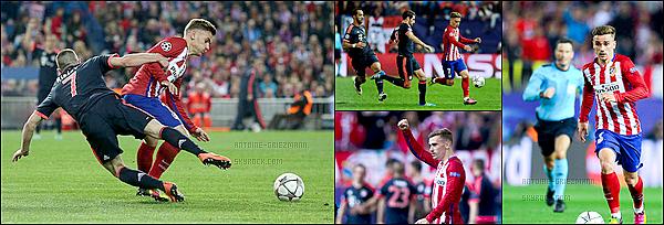 27 Avril 2016: ▬L'Atletico Madrid recevait leBayern Munich en demi-finalede Ligue des Champions. (1-0) L'Atletico prends une option pour la qualification en finale au terme d'un très bon match. Niguez a inscrit un but en première période.