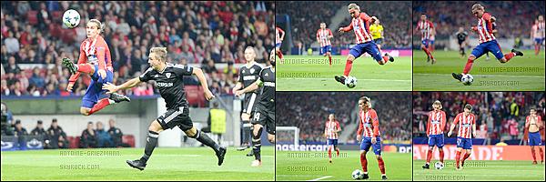 31 Octobre 2017: ▬L'Atletico Madrid recevaitQarabag en poules de la Ligue des Champions (1-1). Les Colchoneros ont eu les occasions pour l'emporter en seconde période mais ont manqué de réalisme. But : T. Partey ( 56' ).