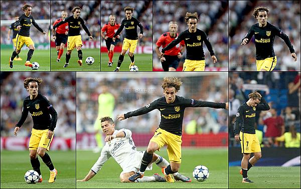 2 Mai 2017: ▬L'Atletico Madrid affrontait le Real Madrid en demi-finale de la Ligue des Champions. (3-0) Dominateur sur l'ensemble des 90 minutes, les Colchoneros n'ont pas été assez performant pour pouvoir rivaliser avec cette équipe du Real.