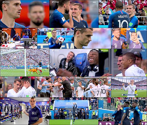 """2 Janvier 2019: ▬TF1 diffusait """"2ème étoile"""", doc. inédit sur le parcours des Bleus en coupe du monde. Découvrez également des images inédites du jour de la finale grâceà une vidéo publiée la chaîneyoutube de la FFF."""