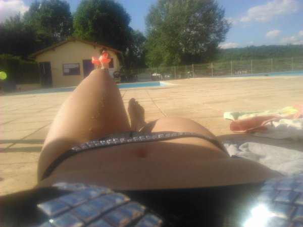 #Piscine #Posey #Bronzette #AvecLeFrere <3