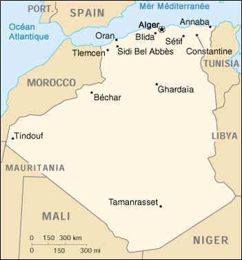 Carte Algerie Maghnia.Carte De L Algerie L Algerienne