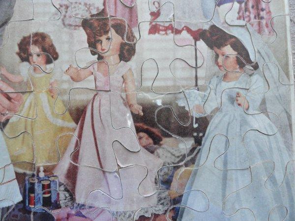 Puzzle poupées mannequins...Mme Alexander??