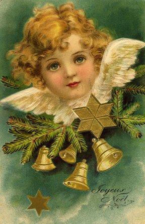 ooooh! les belles cartes de Noël vintage...