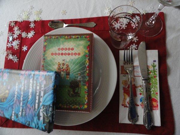 mon invité à Noël...et les cadeaux!