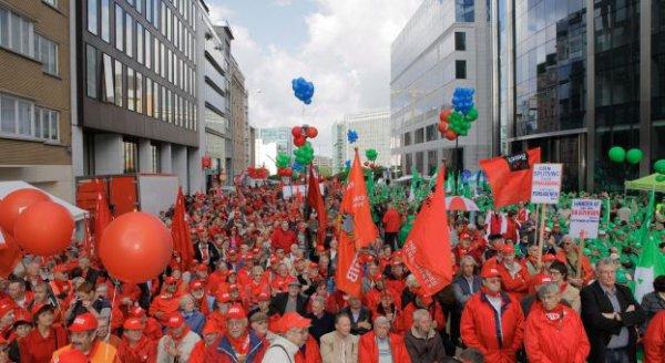 Manifestation nationale: 50 000 personnes sont attendues dans les rues de Bruxelles