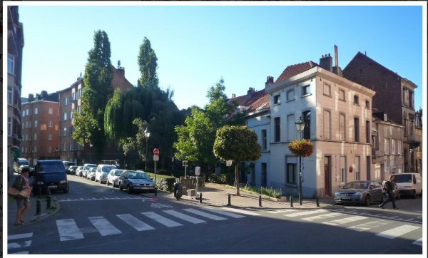 chaussée de forest coin rue de bosnie photo 2
