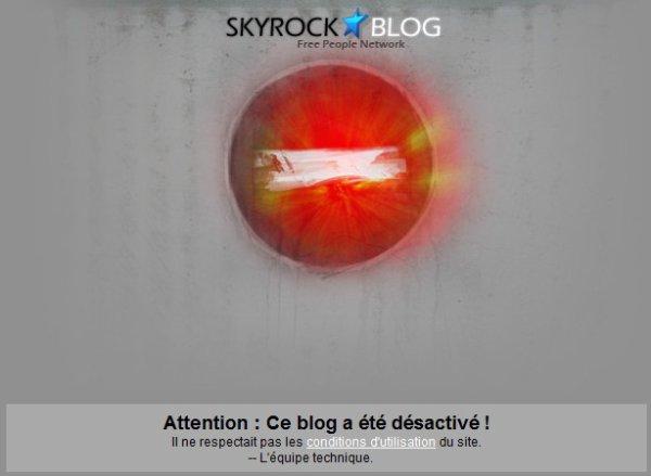 blog désactivé