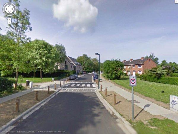 bon ... la rue François vervolet... et encore une rue de CENSURE