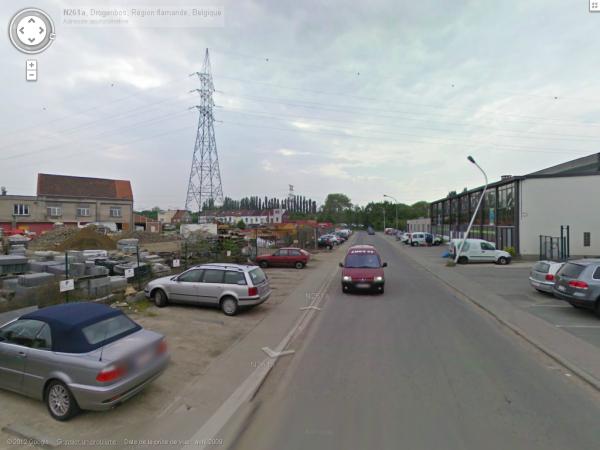 drogenboos la N261a (qui pourrais porter un nom mais bon) et la rue