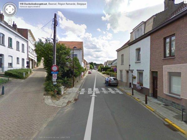collart coin rue des Hêtres et la fin Dachelenbergstraat à beersel