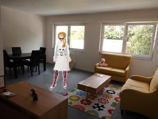 TU va le voir l'appartement