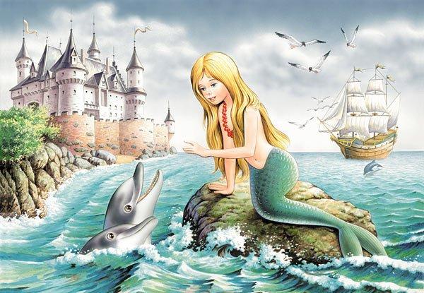 La sir ne et le dauphin ohayo - Dauphin dessin couleur ...