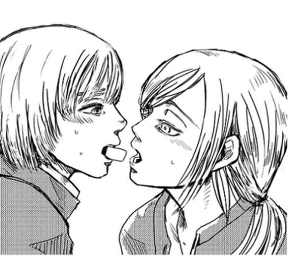 Armin x Christa ♥