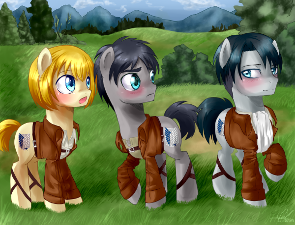My little pony aot