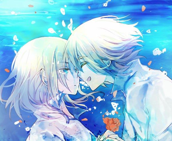 Me noyer dans l'océan de tes yeux