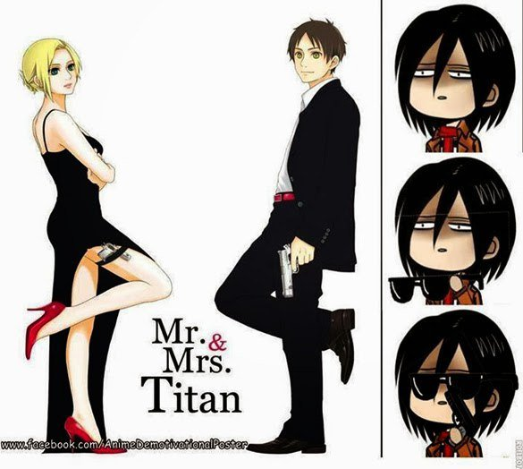 Mr & Mrs Titan