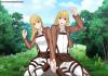 Couples ( ou duo pour les filles )  d'Ocs SnK faits avec Rinmaru Games