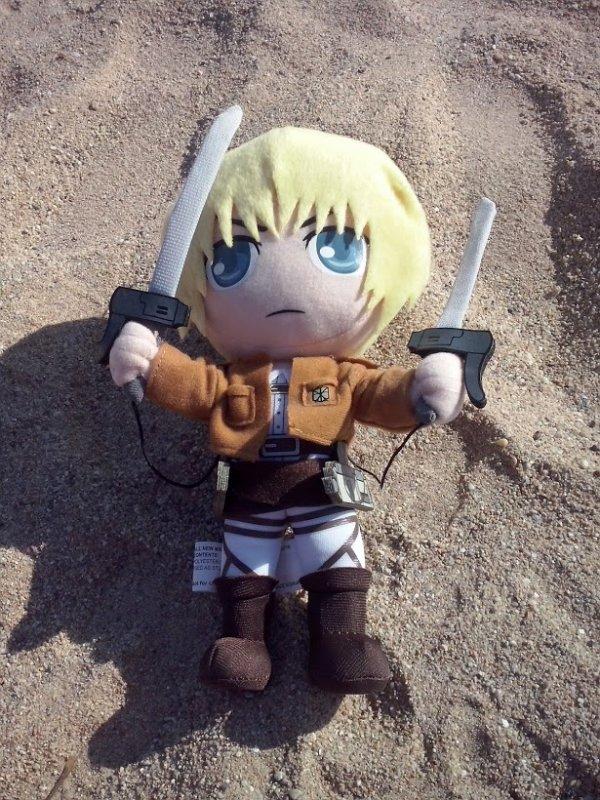 Une nouvelle peluche Armin ♥
