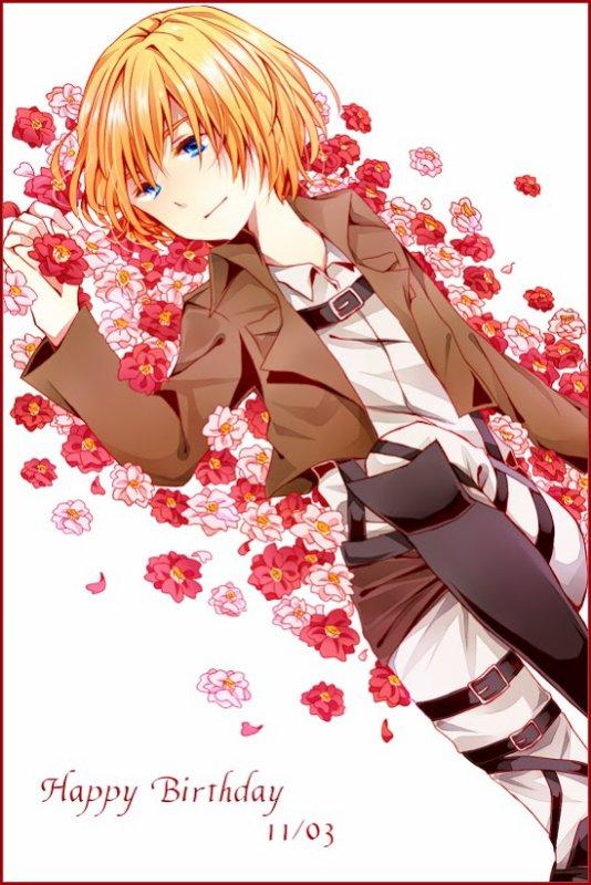 O tanjoubi omedetou Armin ♥