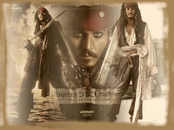 Images de fond : Pirates des Caraïbes