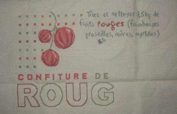 Confiture de fruits rouges !!!!