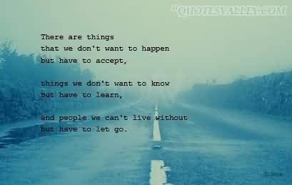 parfois il nous faut du temps pour accepter certains choses