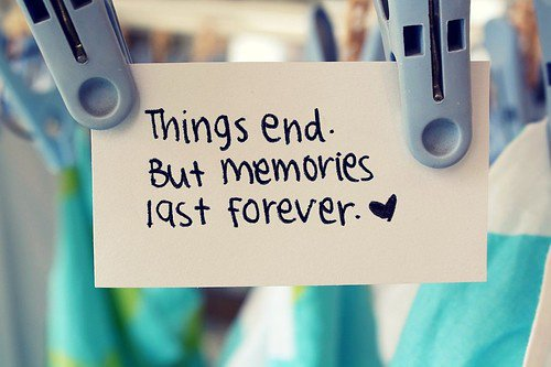some memories never fade & can never be replaced