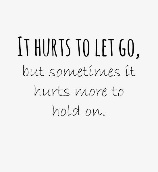 Parfois il vaut mieux laisser tomber
