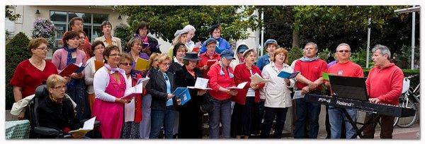 """Fête de la musique """"Atelier Chansons"""" de la Chambriolle le 20 juin 2010 ..."""