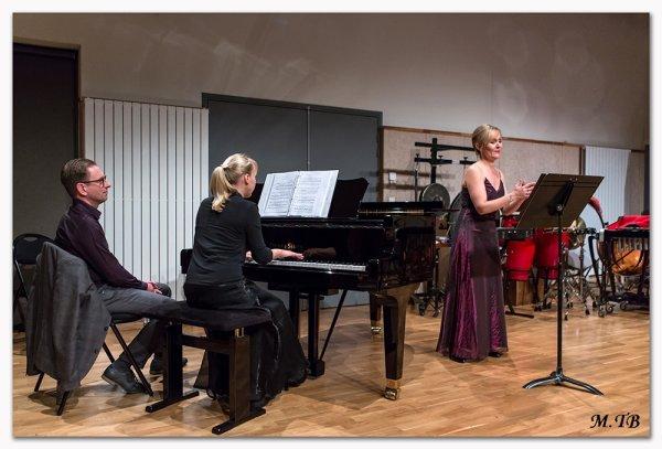 Cécilia Marchand et Catherine Natalini en récital ....