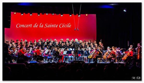 Concert de la Sainte Cécile du 21 Novembre 2015